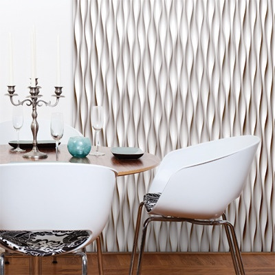 Modular Tile accent wall
