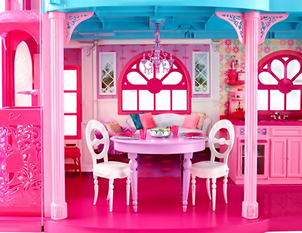Barbie Doll House by Mattel